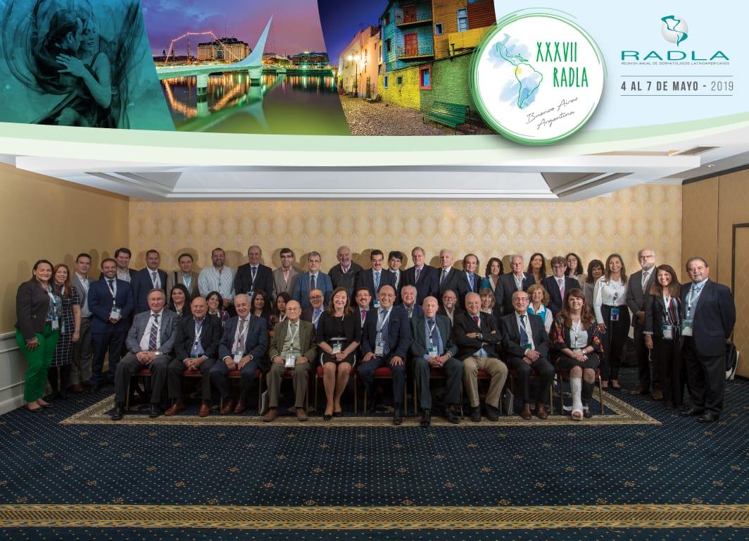 Apresentamos os delegados e os residentes brasileiros becados pela RADLA Argentina